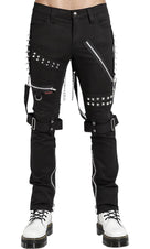 Studded Black | BONDAGE PANTS