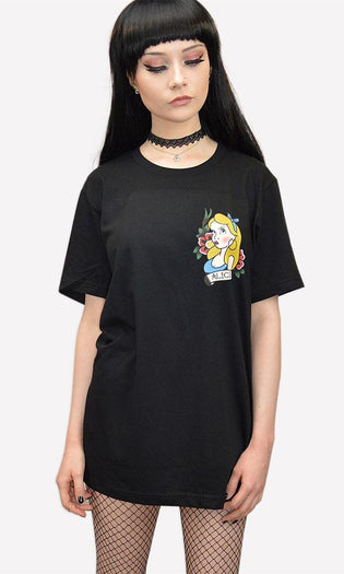 Alice Traditional Tattoo | T-SHIRT