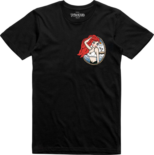 Ariel Little Mermaid Tattoo | T-SHIRT