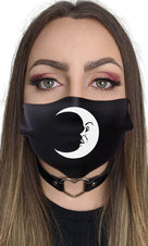 Crescent Moon | FACE COVER*