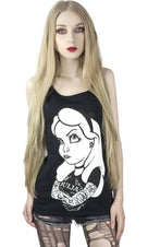 Ouija Alice Rebel Tattoo | TANK TOP
