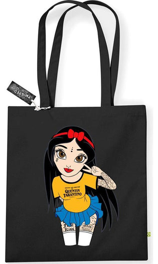Peace & Love Hippy Snow White | TOTE BAG