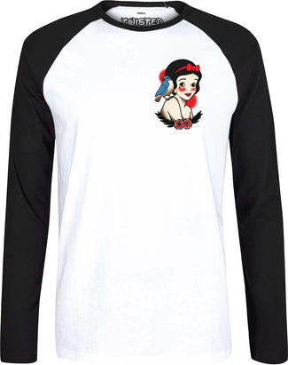 Snow White Tattoo | Raglan T-SHIRT*