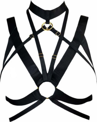 Andorra [Black/Gold] | HARNESS