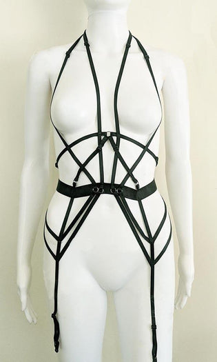 Brigitte Bodice [Black] | HARNESS*