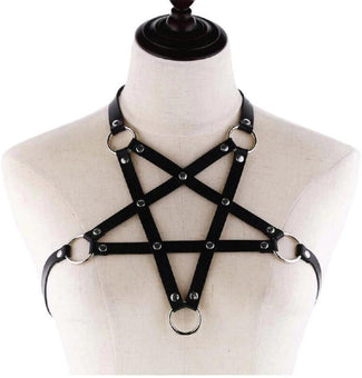 Felix Pentagram [Black] | BODY HARNESS