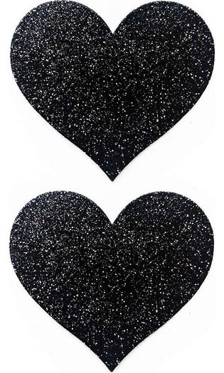 Heart [Onyx Sparkle] | PASTIES