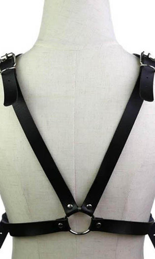 Maddie Cross [Black] | BODY HARNESS