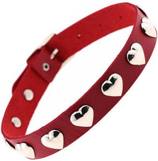Ruby Heart Red Choker