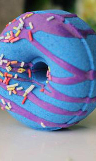 Blueberry Muffin Doughnut | BATH BOMB