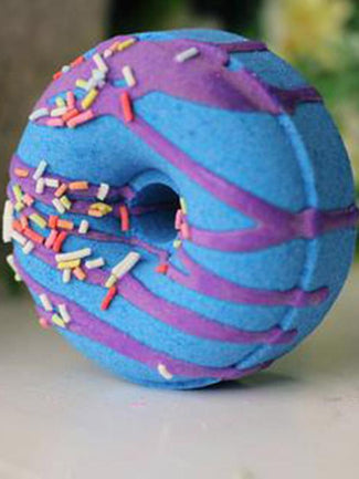 Blueberry Muffin Doughnut Bath Bomb