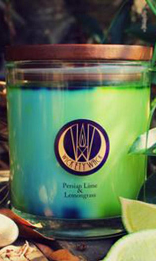 Persian Lime & Lemongrass | CANDLE [MEDIUM]