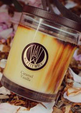 Caramel Vanilla Candle Medium