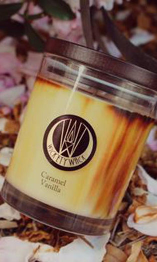Caramel Vanilla | CANDLE [MEDIUM]