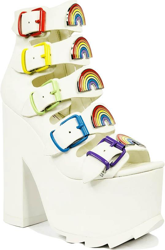 Dreamscape Rainbow [White] | PLATFORMS