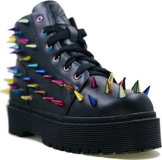 Fierce Black/Multi Spike | SNIKKERS