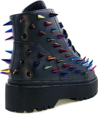Fierce Black/Multi Spike | SNEAKERS