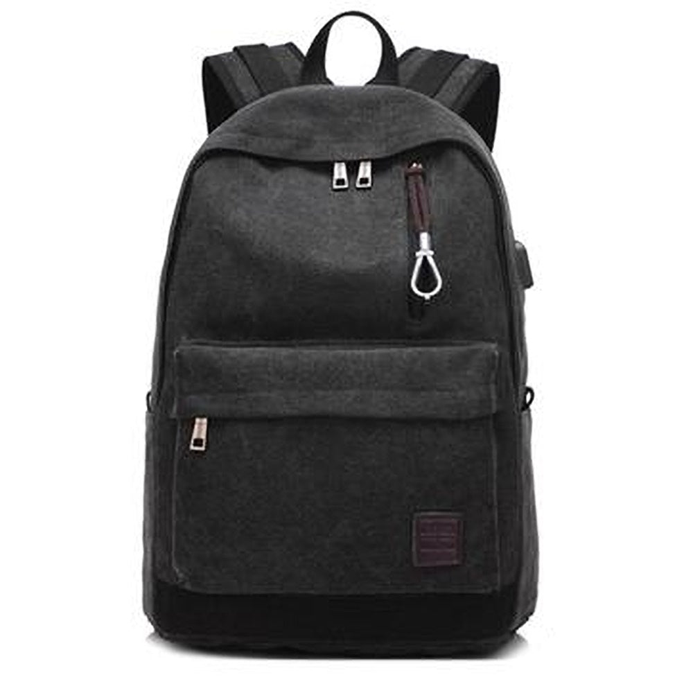 Oxford School Backpack-Black