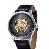 Skell 9017 Men Watch Black