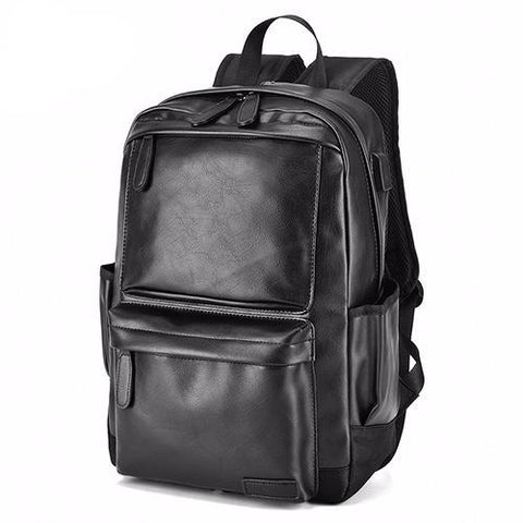 Vintage Stylish USB Backpack