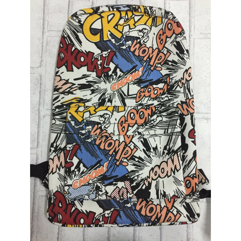 Messy Graffiti School Backpack