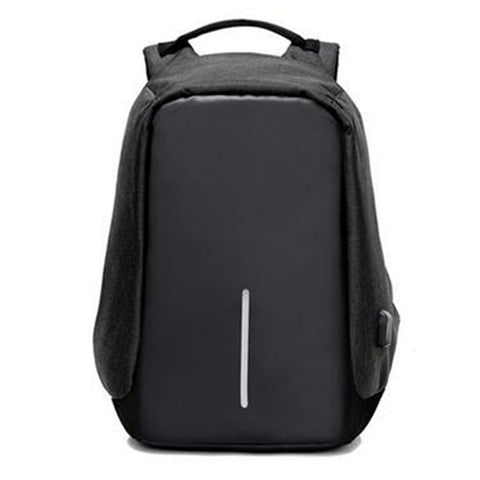 The Urban USB backpack-Black