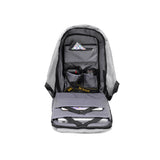 The Urban USB backpack-Grey