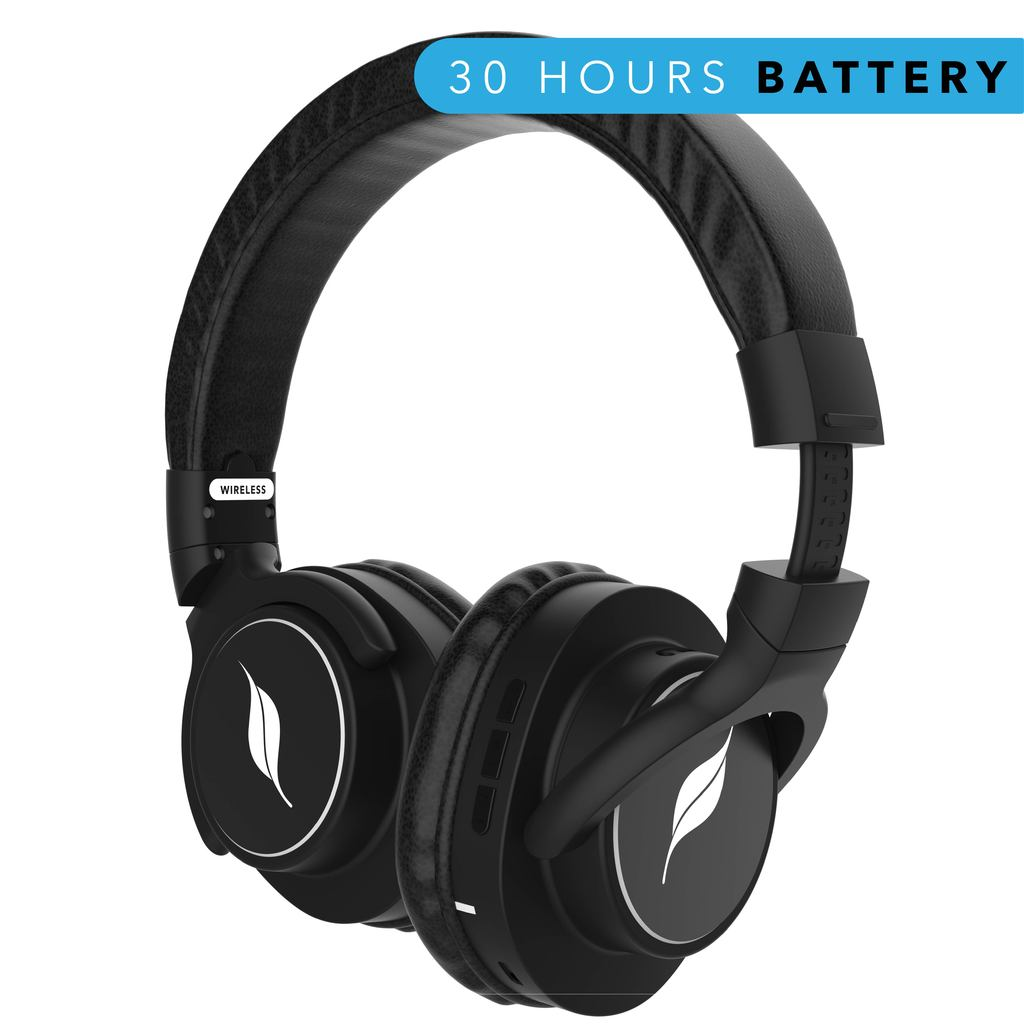 Leaf Beast Over-Ear Headphones with 30 Hour Battery