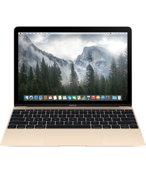 "[復修機] Apple MacBook 12"" Core m3 1.1GHz 256GB (Gold - MLHE2)"