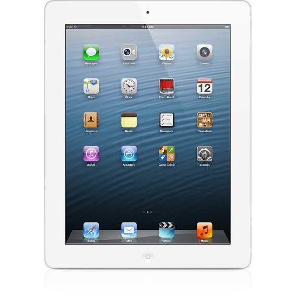 [復修機] Apple iPad 4th gen Wi-Fi + Cellular 128GB (White)