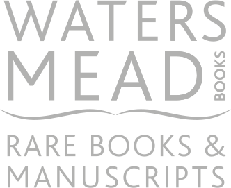 Rare Books & Manuscripts at Watersmead Books