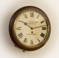 English Fusee Dial Clocks