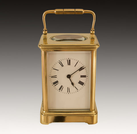 HENRI JACOT STRIKING CARRIAGE CLOCK No. 17513