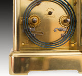 HOWELL JAMES REGENT ST LONDON REPEATING CARRIAGE CLOCK by RICHARD & Co  c.1890