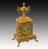 19TH.C NEO CLASSICAL STRIKING MANTEL CLOCK by COMPTOIR GENERAL PARIS [599MA]