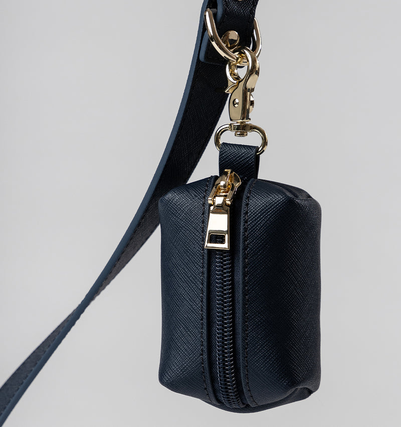 Classic Royal Navy Leather Lead