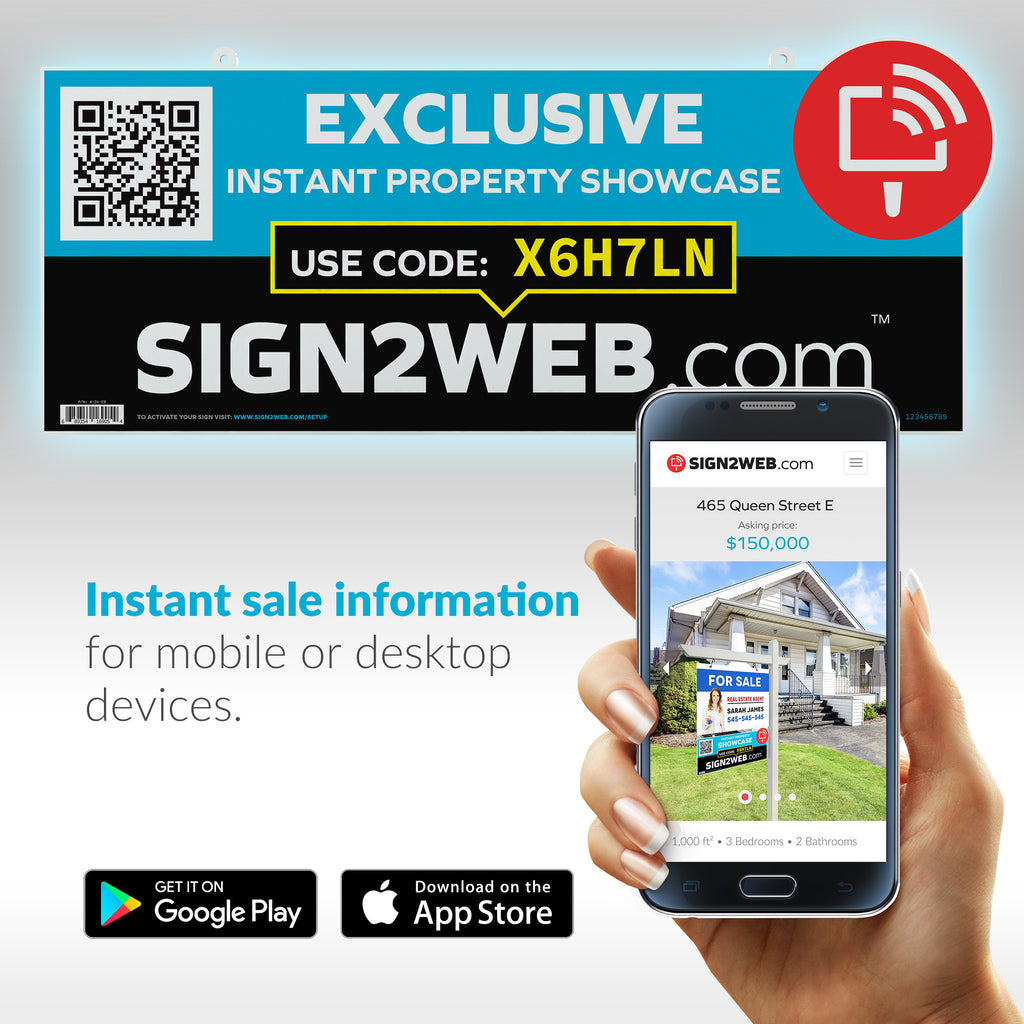 "Exclusive Sign Rider 24"" or 32"""