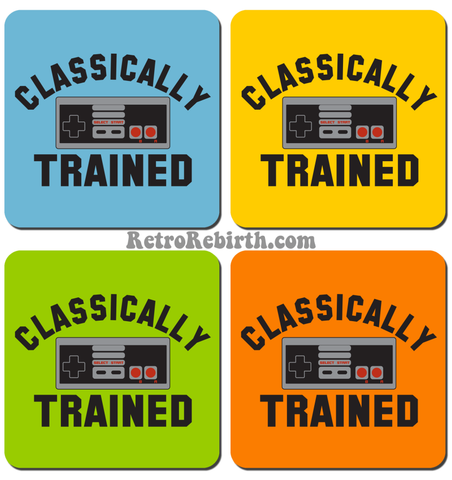 Nintendo Classically Trained Drink Coaster Set - RetroRebirth