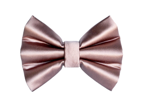 Mauve Silk Bow