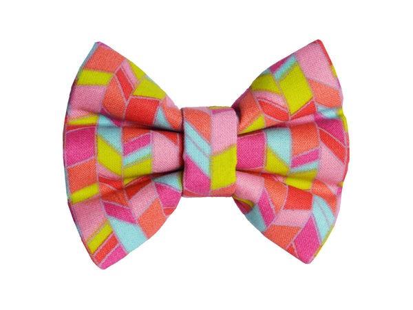 Summer Chevron Bow