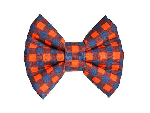 NFL Gingham Bow (SPECIAL ORDER)
