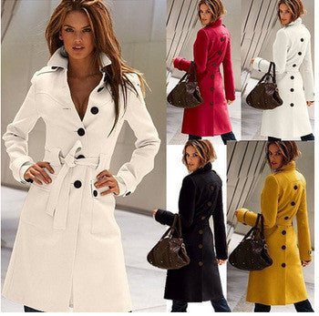 Cashmere Wool Coat [GV823H]