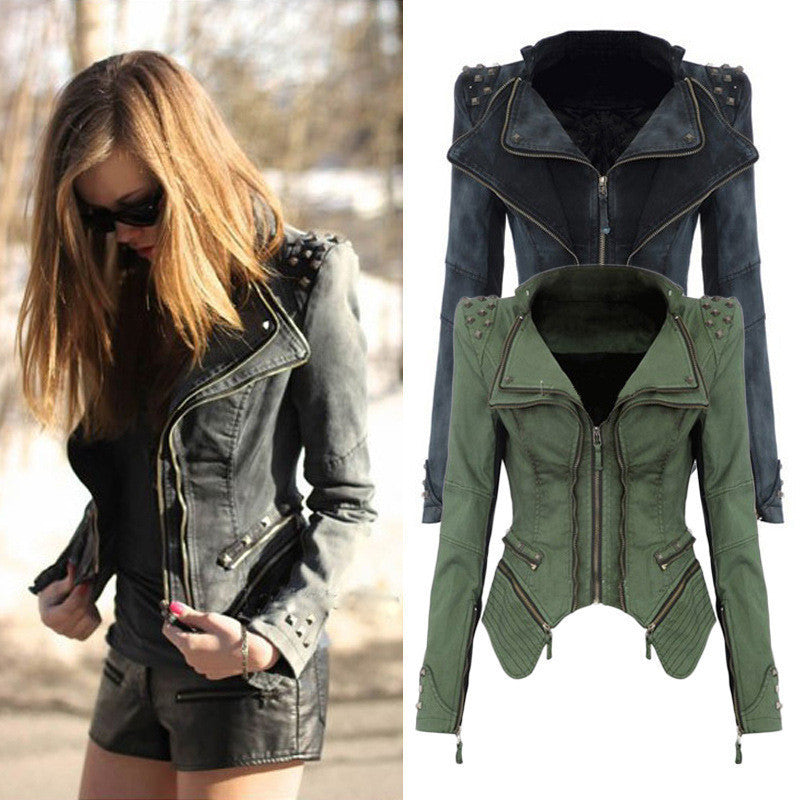 RIVETS DENIM JACKET BV1015CA
