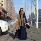 Fashion big swing coat CX109CF
