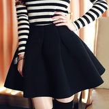 Fashion Pure Color Skirt [XE0104DD]