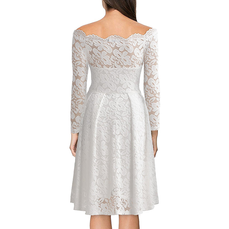 Fashion Lace Embroidery Dress