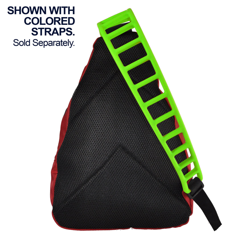 Silicone Tapered Shoulder Strap #T501
