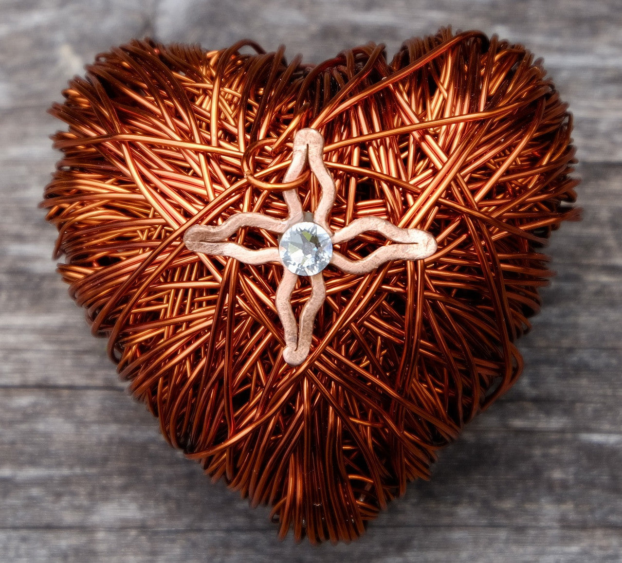 Copper Wired Heart