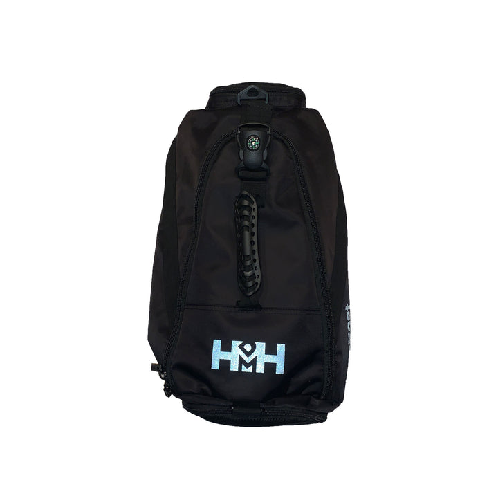 HDMH 3-in-1 Backpack/Duffel Bag - Black