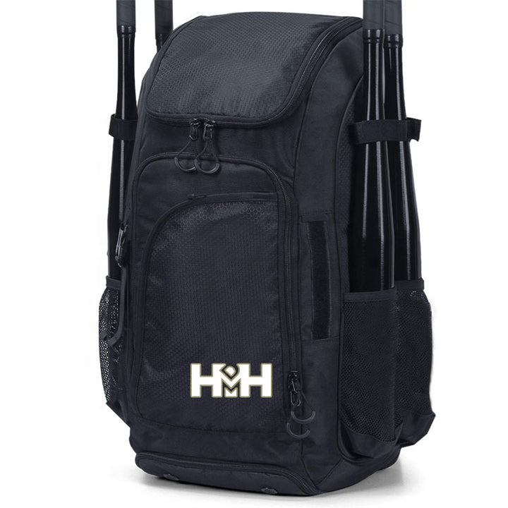 HDMH Baseball Backpack - Black